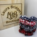 Tartan/Gingham Scrunchie set