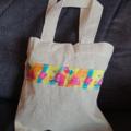 Mini birthday tote bag / gift bag