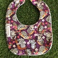 Koala feeding Baby bib with snaps