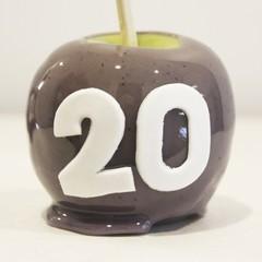 Number toffee apples