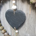 Gumnut & Slate Heart Wreath