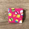 Card Wallet - Pink Cupcakes