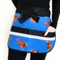 Teacher Apron Sausage Dog Six pockets FREE POST!