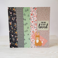 You Are So Very Loved, Woodland Baby Card, Woodland Birthday Card