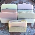 Pack of 5 Hand Made Soap with essential oils.
