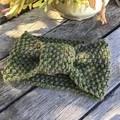 Australian 100% Alpaca Hand knitted head warmer.