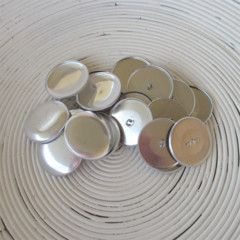 (Size 60 ~ 38mm) 25 x SHANK Back Self Cover Buttons