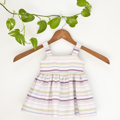 Eco Cotton Baby Sundress Size 0