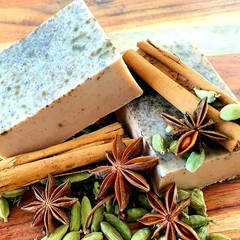 The Bodhi Tree: Spiced Chai Soap Bar 100g