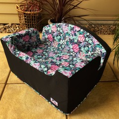 Large Booster Seat - Tropical Floral