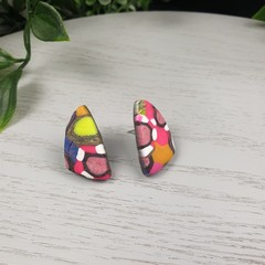 Gidget Sails (small) Stud earrings - Handcrafted earrings
