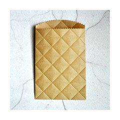 Embossed Paper Pockets {10} Kraft Paper Bags | Party Paper Favors | Embossed