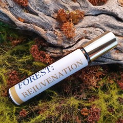 FOREST: REJUVENATION 10ml Aromatherapy Essential Oil Roller For Fatigue