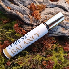 FOREST: BALANCE 10ml Uplifting Aromatherapy Essential Oil Roller