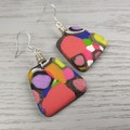 Gidget Pebbles Dangle earrings - Handcrafted dangle earrings - Sml