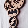 SuperHero Emblem Door Plaque