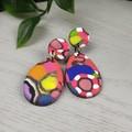 Gidget Teardrop Dangle earrings - Handcrafted dangle earrings - Sml