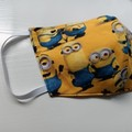 Minions print cloth face mask