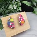 Gidget Sails (small) Stud earrings - Handcrafted earrings