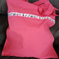Pink fashion tote bag / shopping bag