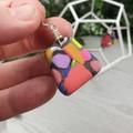 Gidget Pebbles Dangle earrings - Handcrafted dangle earrings - Sml