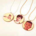 Custom Handmade Portrait Necklace