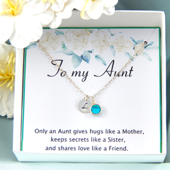 Aunt Necklace, Aunt Gift,  Auntie Necklace, Auntie gift, Aunty Necklace