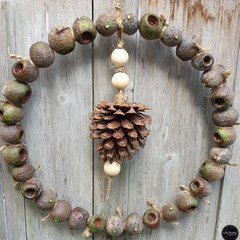 Gumnut & Pinecone Wreath