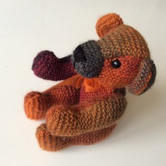 Classic Soft Bear Knitted - Toy - Amigurumi
