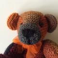Classic Soft Bear Knitted - Toy - Amigurumi