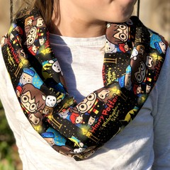 Soft Feel Infinity Scarf - Harry Potter