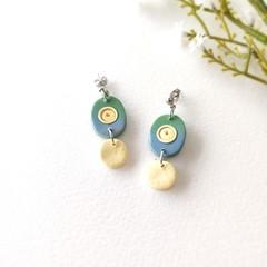 Minimalist Small Jewelry Handmade Polymer Clay Statement Earrings