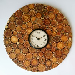 Pine Cone Clock