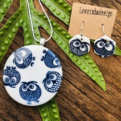 Gift SET Ceramic/sterling silver