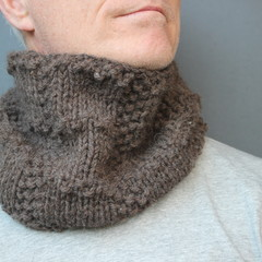 Brick - Brown Wool Neck Warmer