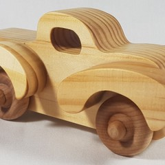 Ute - Freaky Fords - Handcrafted Wooden Toy Car
