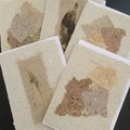 Handmade Paper Cards - Pack of 5