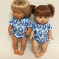 Miniland and Minikane Dolls Romper to fit 38cm dolls
