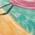 Flo Flamingo Acrylic Painting