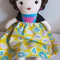 Mexican Folk Doll/ Frida Khalo inspired