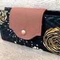 Fold Up Wallet, Clutch Purse  - Evening Clutch