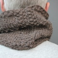 Brick - Brown Wool Neck Warmer