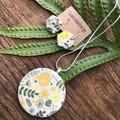 Gift SET Ceramic/sterling silver