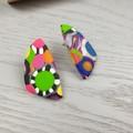 Bubble Pop (Medium) Stud earrings - Handcrafted earrings