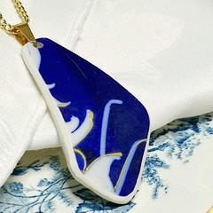 Antique Deep Blue Pendant