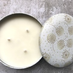 Dandelion Triple Wick Soy Candle - select your fav fragrance