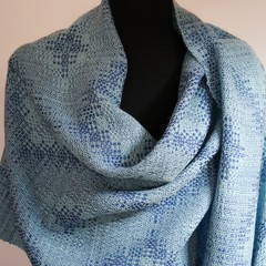 Handwoven 100% Merino Wool Shawl Wrap
