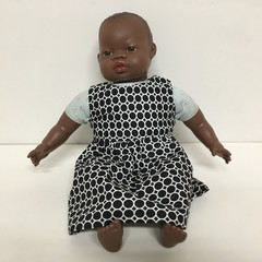 Dolls  Dress to fit 40cm Miniland and Les Pluminis Dolls