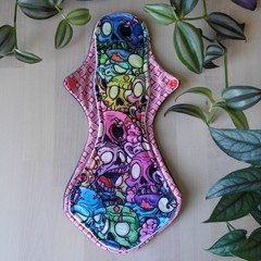 "12"" Heavy exposed core cloth pad (Versodile tesswrap - extra wide flare)"