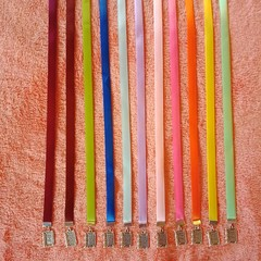 Ribbon charm bookmarks